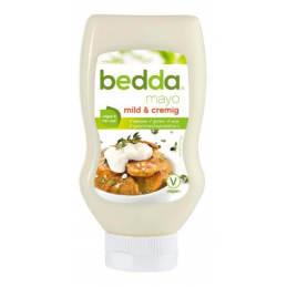 Sauce mayo vegan en bouteille squeeze - Bedda