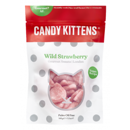 Bonbons FRAISE SAUVAGE 125gr - Candy Kittens