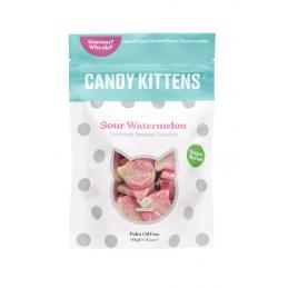 Bonbons PASTÈQUE ACIDULÉ 54gr - Candy Kittens