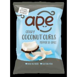 Chips de Noix de Coco Poivrées