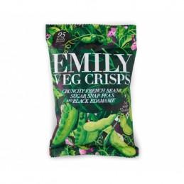 Chips de légumes verts -...