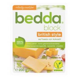 Vromage block British (cheddar) - Bedda
