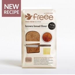 Farine à pain brun sans...