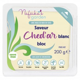 Bloc Ched'ar Blanc Vegan...