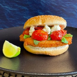 Burger sans Poisson 100%...