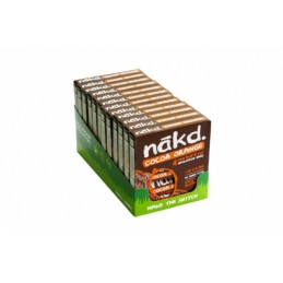 Barres Nakd Cacao Orange X 48