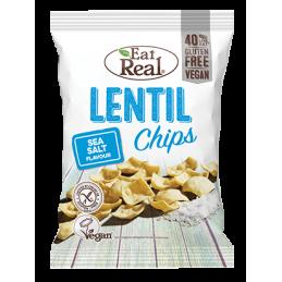 Chips de lentille juste...