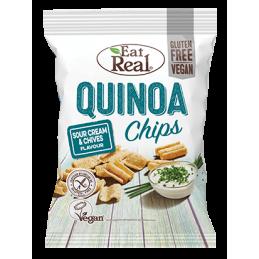 Chips de Quinoa crème et...